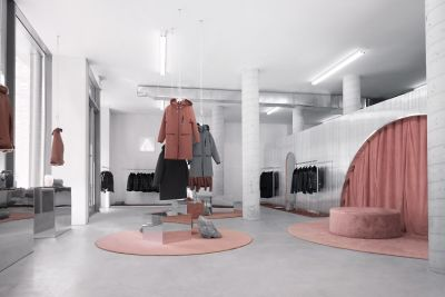 This Cult Favorite Outerwear Brand Just Opened The Chicest Pop-Up In NYC
