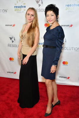 julia dubovyk in The Resolution Project's 2017 Resolve Gala
