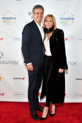 sarah berner in The Resolution Project's 2017 Resolve Gala