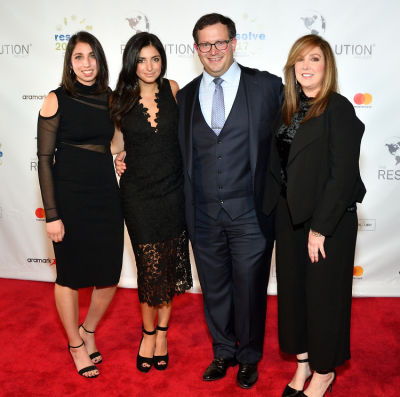 sabrina tharani in The Resolution Project's 2017 Resolve Gala