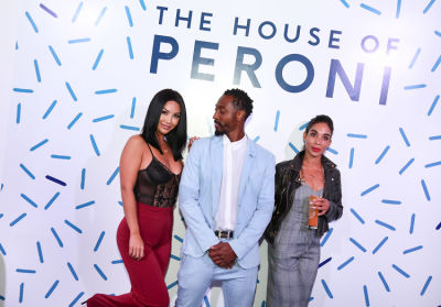 natalie madison in House of Peroni LA Opening Night