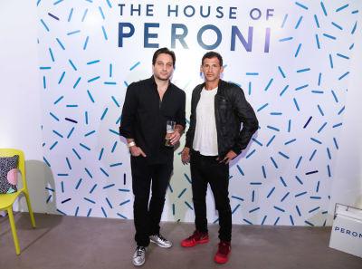 marcello cacioppo in House of Peroni LA Opening Night