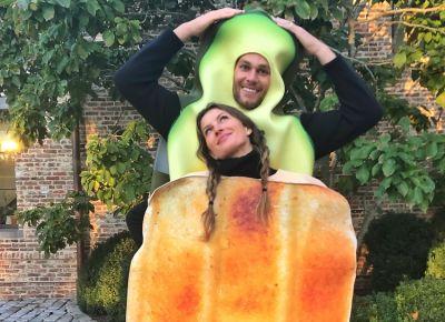 Gisele & Tom Brady Had The Most Basic Bitch Couples' Costume Of Halloween