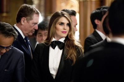 The Hidden Meaning Behind Hope Hicks's Tuxedo In Japan