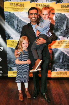 siddharth sharma in  Global non-profit Beyond Type 1's Bike Beyond premiere at the Landmark Theater