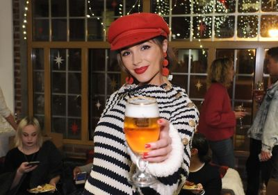 Olivia Culpo's Sparkling Holiday Cocktail Is An It Girl Must