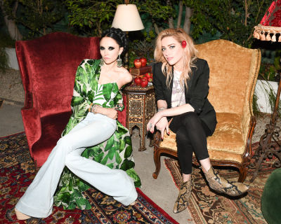 Amber Heard Joins Alice + Olivia's Stacey Bendet For The Launch Of AO.LA Denim