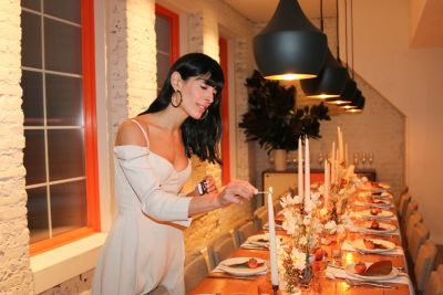 Inside Athena Calderone's Boss Babe Dinner Party With Bumble Bizz