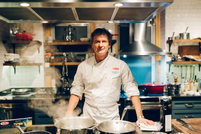 lorenzo boni in Inside The Barilla Collezione Pasta Supper Club Experience