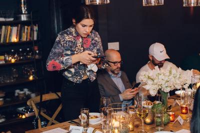 elena besser in Inside The Barilla Collezione Pasta Supper Club Experience