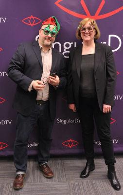 anthony bolinski in SingularDTV Annual Holiday Party