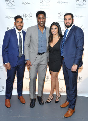 Baynes + Baker King Leo menswear collection launch with Nate Burleson