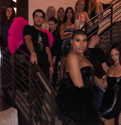 andrew warren in Tiffany Trump Played Flower Girl At A Socialite Las Vegas Wedding