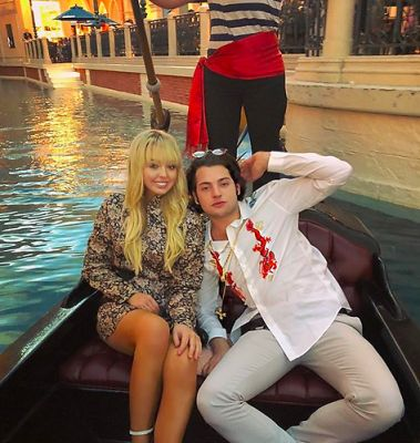 peter brant in Tiffany Trump Played Flower Girl At A Socialite Las Vegas Wedding