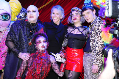 James St. James Attends The Wild 'Freak Show' Premiere In NYC
