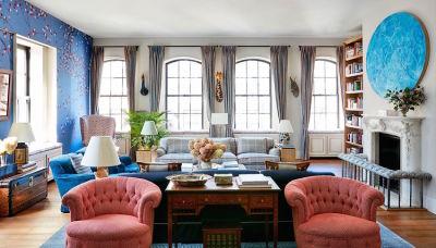 A Look Inside Nicky Hilton's Super Chic NoHo Penthouse