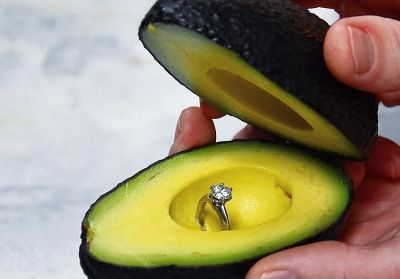 People Are Proposing With Avocados Now...