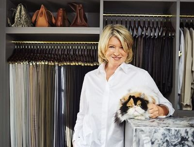 Obviously, Martha Stewart's Closet Is Amazing