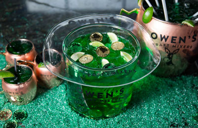 The Most Insane St. Patrick's Day Cocktail In New York