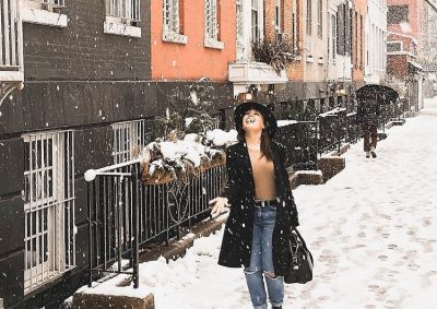 8 Dreamy Photos Of The West Village In The Snow