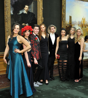 larry milstein in The Frick Collection Young Fellows Ball 2018