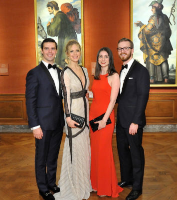 ashton wackym in Frick Young Fellows Ball 2018: Best Dressed Guests