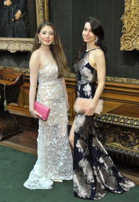 julia goldfeld in The Frick Collection Young Fellows Ball 2018