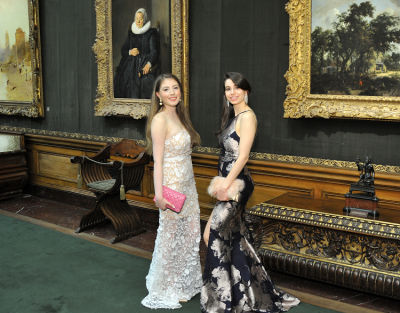 yana manoukian in The Frick Collection Young Fellows Ball 2018