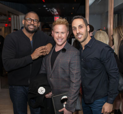 andrew werner in Washington Square Watches Pop-up and Monogram launch party at MOXY Times Square