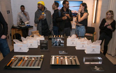 clint headley in Washington Square Watches Pop-up and Monogram launch party at MOXY Times Square