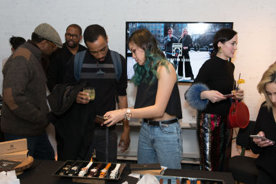 leckie roberts in Washington Square Watches Pop-up and Monogram launch party at MOXY Times Square