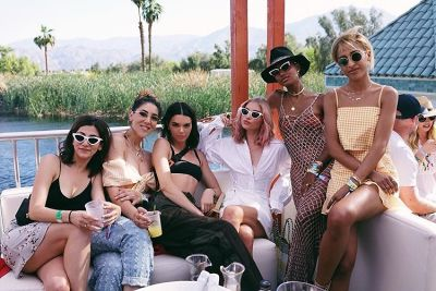 kendall jenner in Squad Goals: The Hottest Girl Gangs At Coachella 2018
