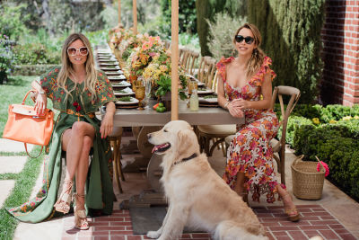 Inside Katia Francesconi & Erica Pelosini's Dreamy Earth Day Picnic In Beverly Hills