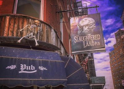 Kitschy Village Pub The Slaughtered Lamb Has Been SEIZED!
