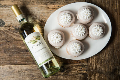 These Pinot Grigio Doughnuts Are The Best Thing You'll Eat All Week