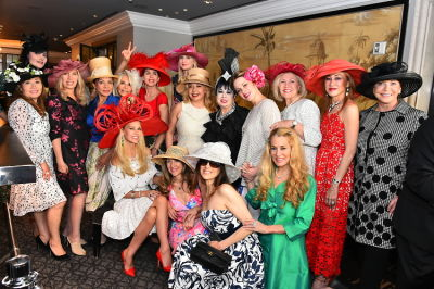 carmen dahdal in Michelle-Marie Heinemann Of Old Fashioned Mom Magazine Hosts 9th Annual Bellini & Bloody Mary Hat Party