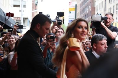 Stunning Candids Of Celebrities Leaving The Mark Before The Met Gala