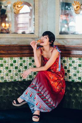 athena calderon in Inside Boursin's Impromptu Entertaining Soiree