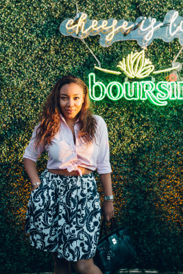 arielle patrick in Boursin Summer Entertaining Launch