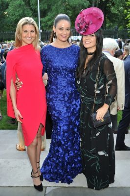 tijana ibrahimovic in The Frick Collection Spring Garden Party 2018