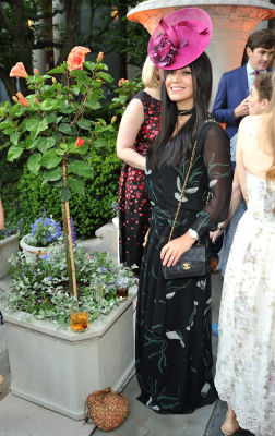avishan bodjnoud in The Frick Collection Spring Garden Party 2018