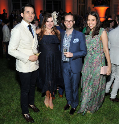 carrie engerrand in The Frick Collection Spring Garden Party 2018