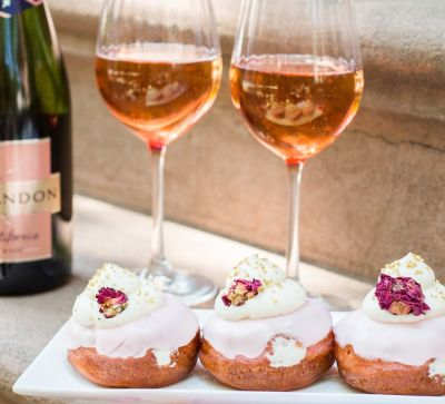 Chandon's Sparkling Rosé Doughnuts Are A Must-Try