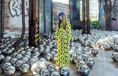 Yayoi Kusama Brings A New Instagrammable Art Installation To NYC