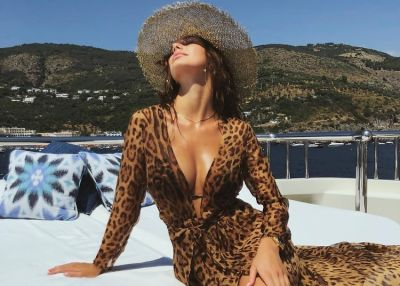 Leonardo DiCaprio's New Girlfriend Looks Glam In Italy, Leo Not So Much