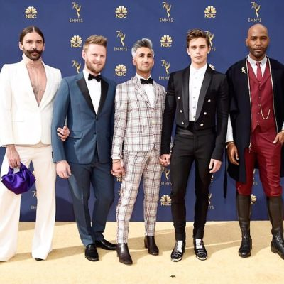 The Fab Five Brought The LEWKS At The 2018 Emmys