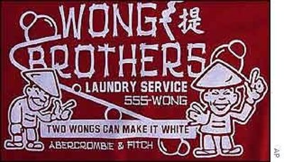 Two Wongs Can Make A White