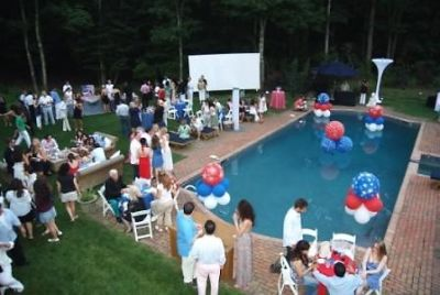 jill zarin's 4th of july party