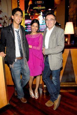 Dev Patel, Freida Pinto, Danny Boyle