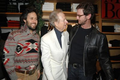 David Lauren, Mark Seliger, Tom Wolfe